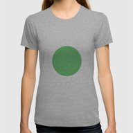 Point Vert 4 Womens Fitted Tee Athletic Grey SMALL