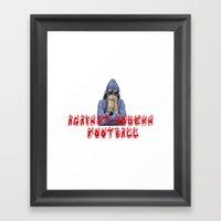 AGAINST MODERN FOOTBALL Framed Art Print
