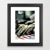 American Machine Shop Framed Art Print