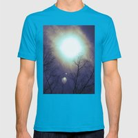 And I'm Feeling Good Mens Fitted Tee Teal SMALL