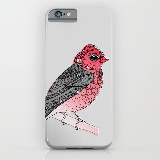 Scarlet Rosefinch iPhone & iPod Case
