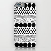 Dots and Lines iPhone 6 Slim Case