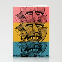 Bon Voyage! Stationery Cards