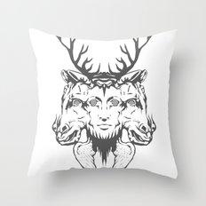GOD II Throw Pillow