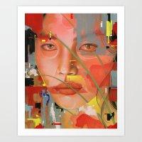 Expressions I Art Print
