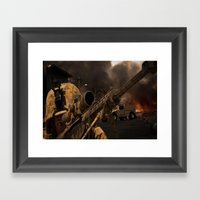 The Sniper Framed Art Print