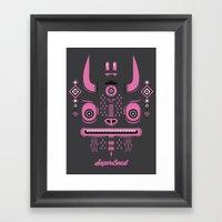 Super Beast Framed Art Print