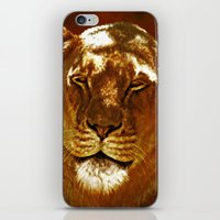 Red Lion iPhone & iPod Skin