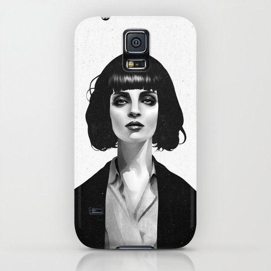 Mrs Mia Wallace iPhone & iPod Case