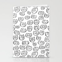 Fussy Cat Stationery Cards