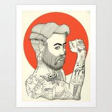 Son of a Sailor Art Print