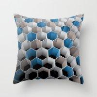 Honeycomb Throw Pillow