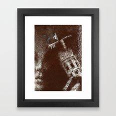 uygarlığın sonu Framed Art Print