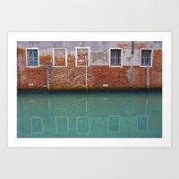 Sinking City Art Print