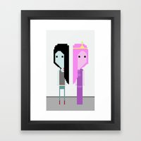 What Was Missing  Framed Art Print