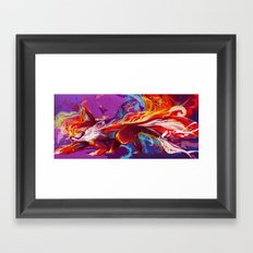 Tailspin Framed Art Print