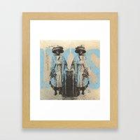 Dos Framed Art Print