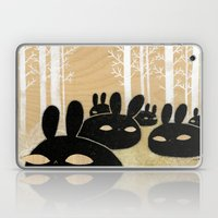 Suspicious Bunnies Laptop & iPad Skin