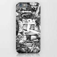 iPhone & iPod Case featuring Alice in Wonderland by eyemurmur
