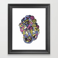 World By Others Framed Art Print