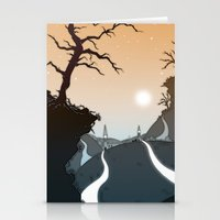 Mountain Paths Stationery Cards