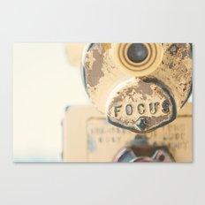 fo·cus ... Canvas Print