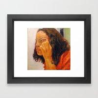 Percentage Framed Art Print