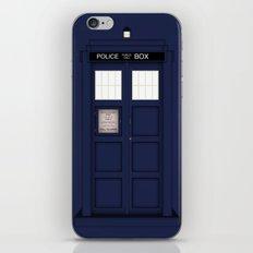 It's The Tardis iPhone & iPod Skin