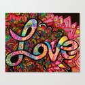 Must Be Love Canvas Print