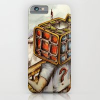 "iPhone & iPod Case featuring ""Cubical"" by Kenny Nguyễn"