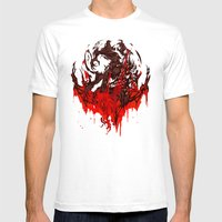 Werewolf Mens Fitted Tee White SMALL