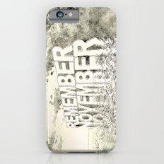 Remember November iPhone 6s Slim Case