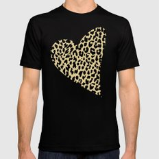 Wild Love Mens Fitted Tee SMALL Black