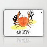 Oh Crab! Illustration Laptop & iPad Skin