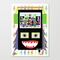 I disco Piff  Canvas Print