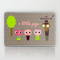 3 Little pigs Laptop & iPad Skin