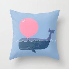 Blubber Gum Throw Pillow