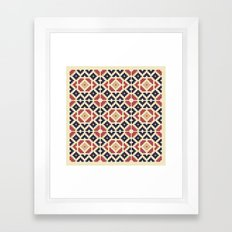 Midcentury Pattern 10 Framed Art Print