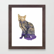 A cat's life II Framed Art Print