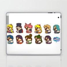 Pretty Soldier Sailor Puglie Laptop & iPad Skin