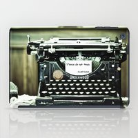 You don't write anymore... iPad Case