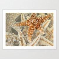 Living in the Ocean Art Print