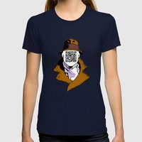 Inkman Womens Fitted Tee Navy SMALL