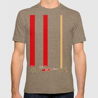 E21 Mens Fitted Tee Tri-Coffee SMALL