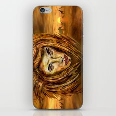 The King of Africa iPhone & iPod Skin