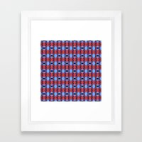 Pttrn25 Framed Art Print