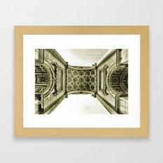 Arch du Cinquantenaire Framed Art Print