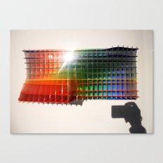 Rainbow Sculpture Canvas Print
