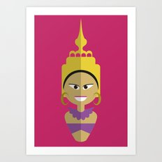 Thai Doll Art Print