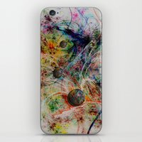 painting marbles iPhone & iPod Skin